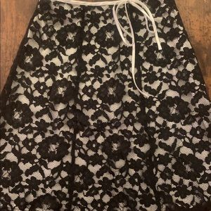 Notations Lace Skirt
